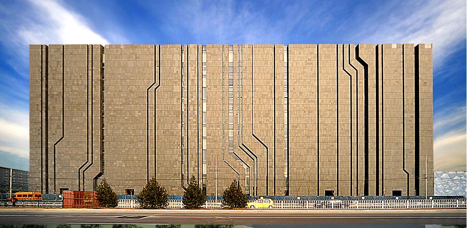 中国建筑标准设计研究院东梓村建筑设计图片
